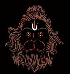 Hanuman Pics, Hanuman Images, Shri Hanuman, Durga Puja Wallpaper, Maa Wallpaper, Hanuman Ji Wallpapers, Lord Vishnu Wallpapers, Maa Tattoo Designs, Hanuman Tattoo