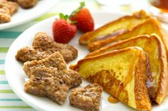 Cut sausage into round patties and use cookie cutters to create fun shapes. Cook sausage on a griddle and enjoy an even more fun breakfast.