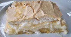 Torta de Banana com Creme e Suspiro   Comidinhas do Chef