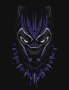 Black Panther, T & # Challa - Marvel Black Panther Marvel, Black Panther Art, Black Art, Black Pantha, Black Panther Images, Hero Marvel, Marvel Dc Comics, Marvel Avengers, Captain Marvel