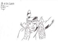 Un personnage de dessin animé.