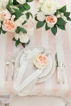 Peach and Pink themed wedding
