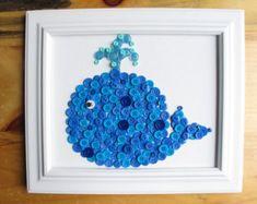 Oiseau Animal bouton toile 8 x 10 par HydeParkHome sur Etsy
