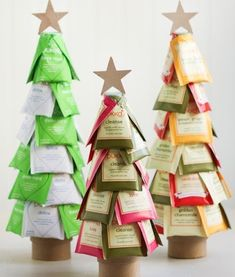 DIY gift treat trees