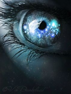 """eye 5 by Vin-Dunkelheit on DeviantArt """"He allowed himself to be swayed by his conviction that human beings are not born once and for all on the day their moth. Gorgeous Eyes, Pretty Eyes, Cool Eyes, Galaxy Eyes, Galaxy Art, Photo Oeil, Realistic Eye Drawing, Aesthetic Eyes, Crazy Eyes"""