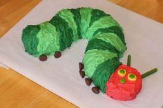hungry caterpillar bundt cake