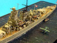 DKM Admiral Graf Spee 1/400 Scale Model Diorama