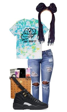 """""""Hold It Down~Brooklyn😍"""" by itsjaylaa ❤ liked on Polyvore featuring NIKE"""