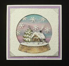 Sandma's Handmade Cards: Last of the Christmas samples for now