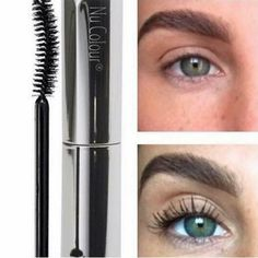 Curl & Lash Mascara, by Nu Skin. Here is a before and after of a customer! Nu Skin Mascara, Curling Mascara, Mascara Tips, How To Apply Lipstick, How To Apply Mascara, Applying Mascara, Curl Lashes, Eyelashes, Eyelash Extension Removal