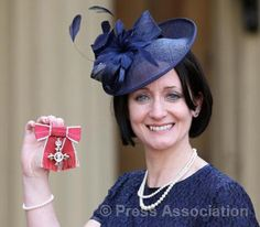 The day I became an MBE simply for being a mumpreneur.