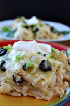 There are many ways to make enchiladas and we really enjoy enchiladas made with flour tortillas. These green chili enchiladas have great flavor and are pretty spicy, which we love. The gobs of cheese, and the other ingredients that you add to these enchiladas, along with the texture of the flour tortillas, make for one...Read More » Mexican Entrees, Mexican Dishes, Mexican Food Recipes, Mexican Fiesta, Fiesta Menu, Mexican Cooking, Mexican Style, Yummy Recipes, Green Chili Enchiladas