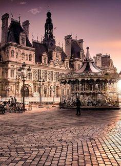 Paris,early morning