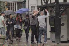 Bossy Coffee, London - Dance, yell or hug and get a free coffee