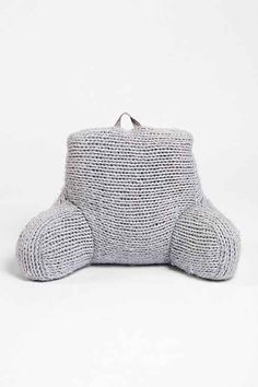 Plum & Bow Cable Knit Boo Pillow - Urban Outfitters