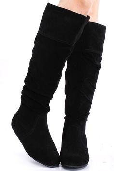 knee high boots flat