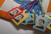 Set of 8- Tesla gift tags for your geeky gifts.  Papyrusaurus  #thecraftstar