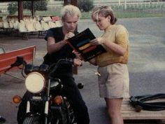 Because everyone is a giant dork at some point. Haha. :) Gwen Stefani tweets 1983 photo of herself getting autograph from Sting
