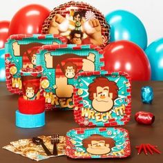 Wreck-It Ralph Birthday Party Pack Supplies