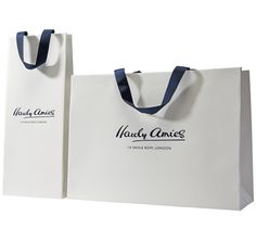 Luxury retail carrier bags