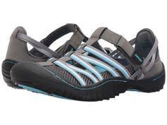 JBU - Jetty Encore (Charcoal/Blue Microbuck/Mesh) Women's Shoes