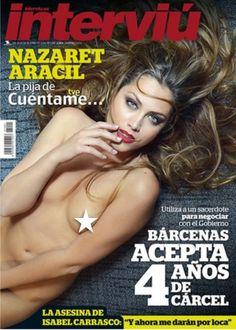 YOCMAGAZINE: ¡Adelanto!... La pija de 'Cuéntame' portada de interviú del lunes, 23.06