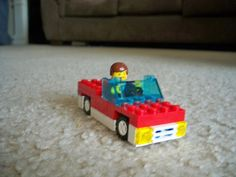 How to bulid a simple LEGO Car.
