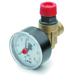 A p m - Safety valve with manometer Safety Valve, 5 Bar, Cooking Timer