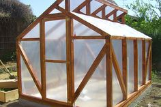 Build a sturdy backyard greenhouse that will last for years. Depending on the climate where you live the growing seasons will vary, but there is one way to