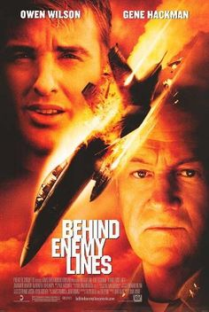 Behind Enemy Lines Original 27 X 40 Theatrical Movie Poster by Purple Dudes Posters