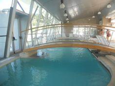 Vasche interne delle Piscine Termali Theia a Chianciano Terme