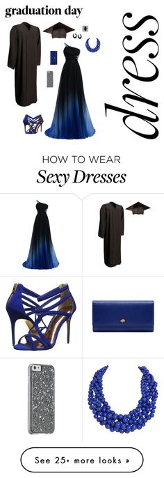 """Graduation"" by brittb16 on Polyvore featuring Ted Baker, Mulberry, Bling Jewelry, Humble Chic, Lulu*s and graduationdaydress"