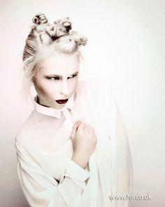 Jamie Stevens London Hairdresser of the Year finalist BHA 2012
