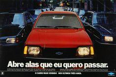 Propaganda - Chevrolet Monza Vw Passat, General Motors, Ford, Chevy, Volkswagen, Chevrolet Monza, Toyota, Automobile, Car Brochure