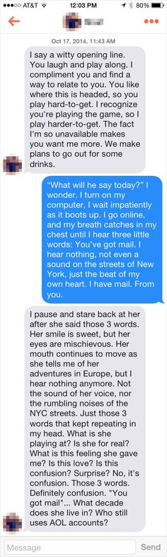 """And this guy just went for it. 