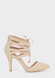 Willow Lace Up Pump