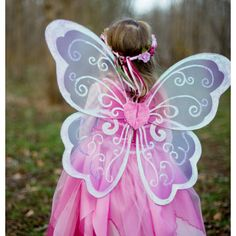 Whimsy Wonder Fairy Wings is just what is needed to complete a special fairy princess costume! These large wings are beautifully detailed with an intric. Fairy Princess Costume, Fairy Fancy Dress, Fairies Photos, Japanese Flowers, Fairy Princesses, Fairy Wings, Tutus For Girls, Butterfly Wings, Favorite Holiday