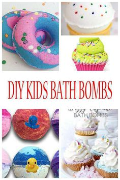 DIY Kids Bath Bombs! Find the best bath bombs that kids and adults will love! Learn how to make bath bombs with simple ingredients. Choose from recipes with essential oils, without citric acid, with baking soda, food coloring and more. Bath bombs are fun beauty products that make great party favors as well as bath time fun. Homemade bath bombs are great for children and adults. Use different molds like Easter eggs, round molds, silicone molds and more. Watch video tutorials for fun bath…