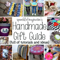Handmade Gift Guide: Make some gifts this holiday season!