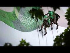 Nike Free Flyknit una valla publicitaria muy viva