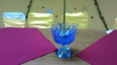 FLOR DE LOTO (Rosa del Nilo) CON BOTELLAS DE PLASTICO