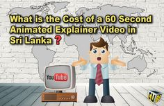 What is the Cost of a 60 Second Animated Explainer Video in Sri Lanka - The Visual Cube® Web Browser, Learning Centers, Startups, Sri Lanka, Small Businesses, Entrepreneurship, Animation, Marketing, Education