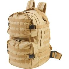 Hunting-Backpack-Army-MOLLE-tactical-Bag-19-Water-Resistant-Heavy-Duty-Desert