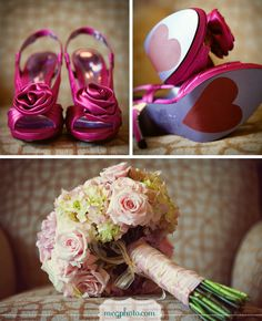 Love the bouquet ribbon!