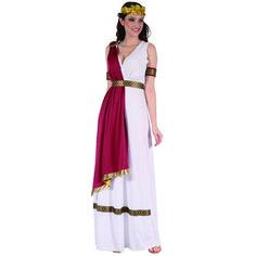 Disfraz de Diosa Romana Roja #disfraces #carnaval