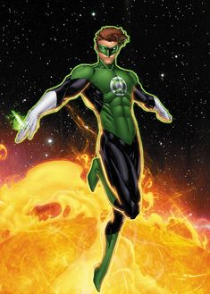 "Green Lantern (Harold ""Hal"" Jordan) is a fictional character, a superhero in the DC Comics universe. Created by John Broome and Gil Kane, Hal made his first appearance in Showcase #22 in 1959. He later sacrificed himself (1994) to save the DC universe, and was later resurrected in 2004 by Geoff Johns in Green Lantern Rebirth. Hal was a test pilot for Ferris Air before being the first human chosen to join the Green Lantern Corps, and is a founding member of the Justice League of America. Hal…"