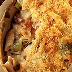 Easy Penne with Leeks and Bacon Heathly Recipes Baked Pasta Recipes, Bacon Recipes, Crockpot Recipes, Cooking Recipes, Savoury Recipes, Yummy Recipes, Delicious Desserts, Recipies, Dinner Recipes