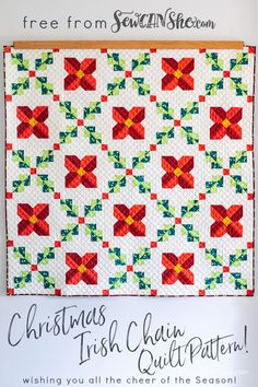 Irish Chain Quilt, Quilt Patterns Free, Free Sewing, Quilts, Clothing Patterns, Dress Patterns, Sewing Hacks, Sewing Projects, Pinterest Pin