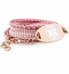 Women S Medical Alert Bracelets And Custom Engraved Ids Lauren Hope