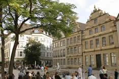 Bielefeld, home for the 1995-96 school year.